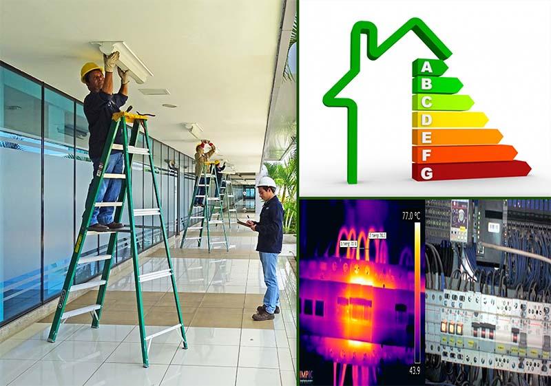 Estudios de eficiencia energética y estudio termográfico