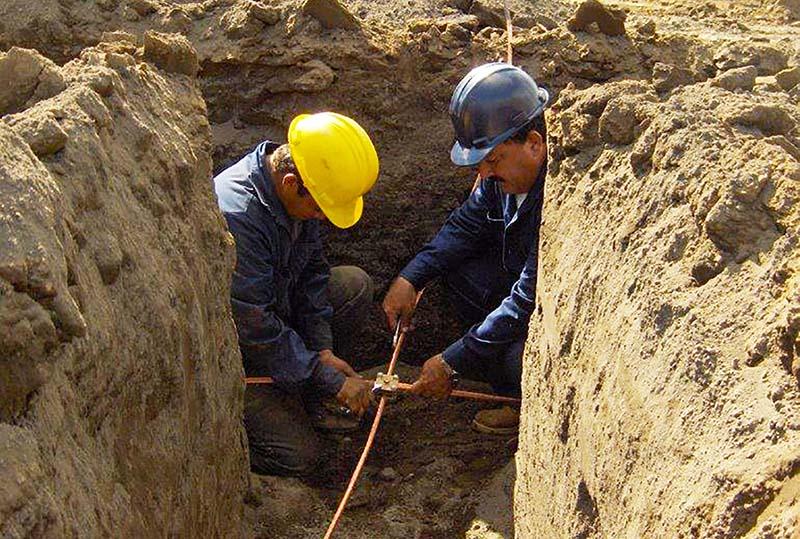 Instalación de Redes de Tierra para Protección de Equipos Eléctricos