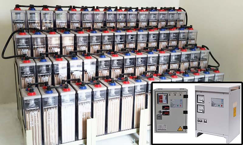 Mantenimiento e instalación de Rectificadores y Bancos de Baterias.